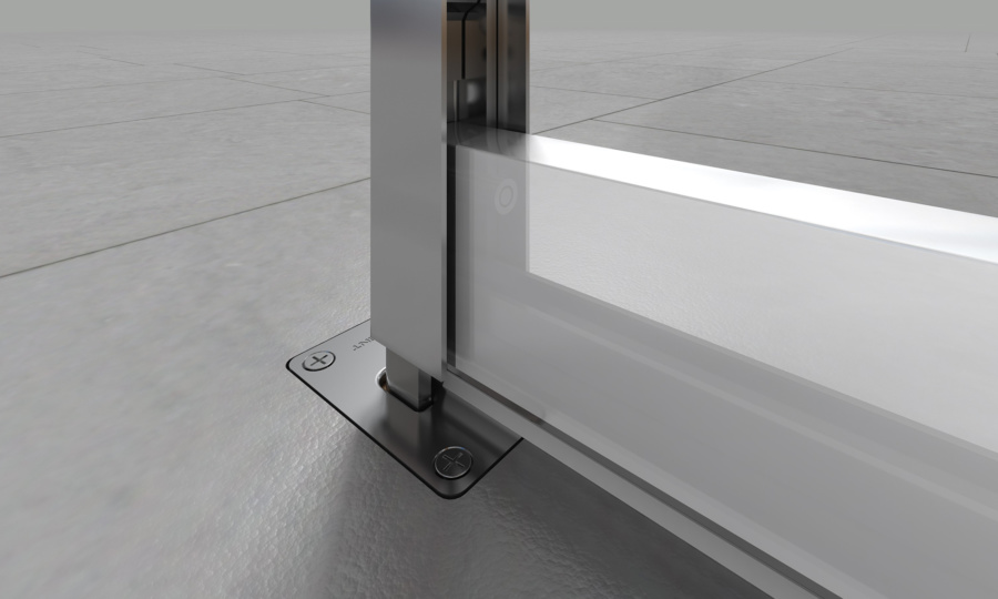 New integrated flush bolt + drop seal from Lorient
