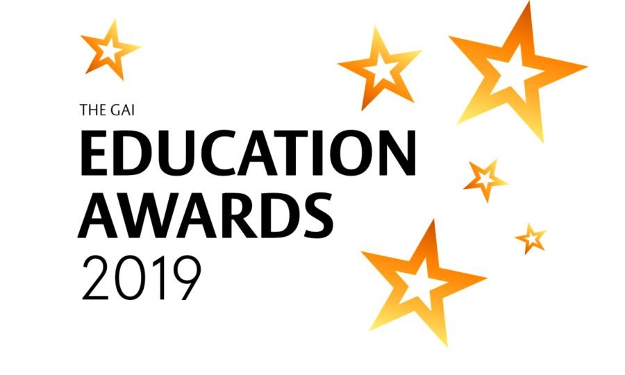 PROUD SPONSORS OF GAI EDUCATION AWARDS 2019
